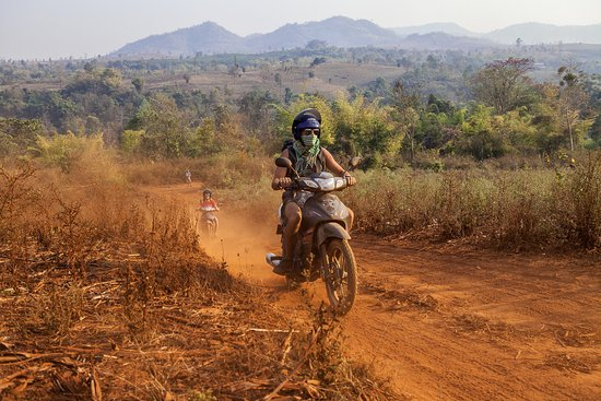 Lashio, Myanmar: Riding Back roads