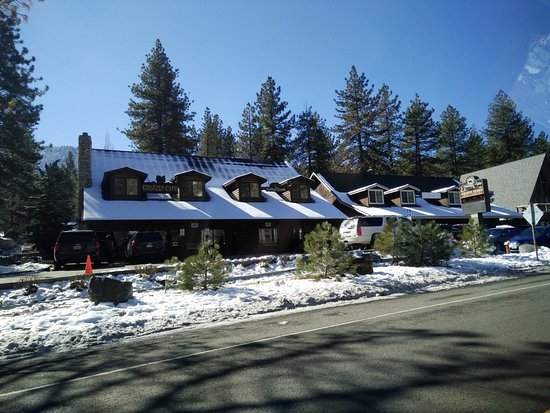 Wrightwood, Californien: view from the road