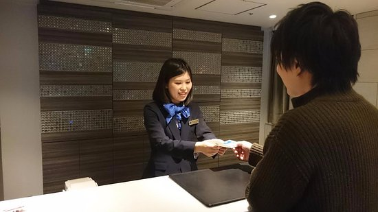Hotel Mystays Gotanda : reception