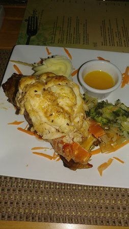 The SPA Retreat Boutique Hotel: The food is excellent!!Cooked with fresh Jamaican Spices..