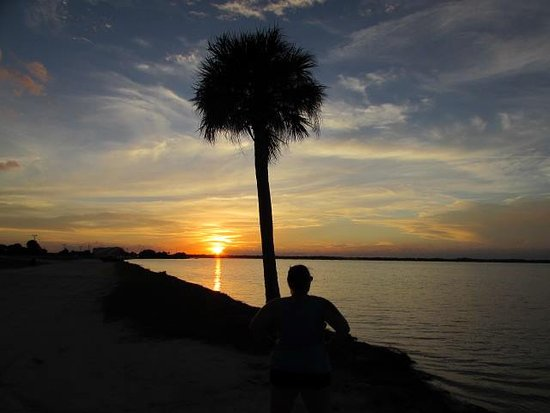Titusville, FL: Sunset in the winter