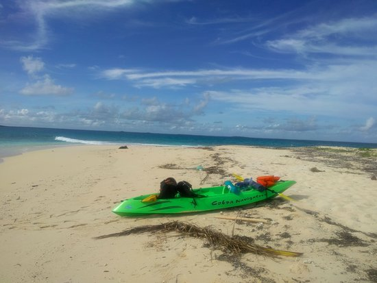 Fatai Kayak Adventures : Excellent equipment made it an easy trip