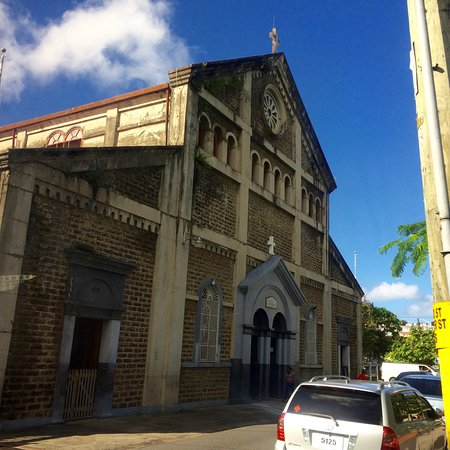 Immaculate Conception Church in Castries