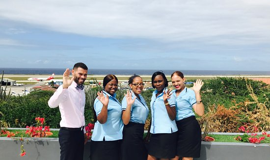 Curacao Airport Hotel Front Desk Staff