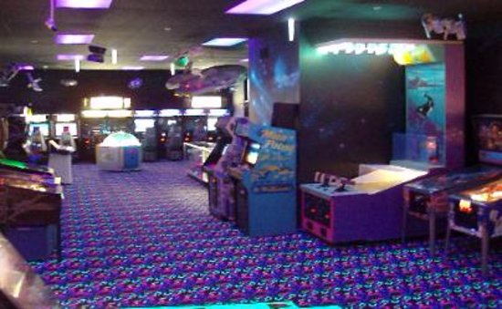 Naperville, IL: Partial view of game room
