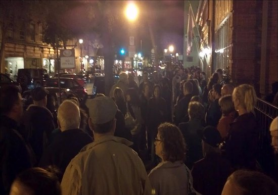 """Frederick, MD: All """"Ghost Tours"""" meet in front of Brewer's Alley Restaurant and Brewery. 124 North Market Stree"""