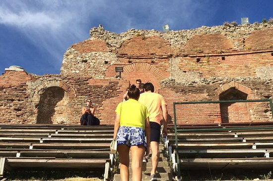 Taormina Walking Tour och vinprovning ...