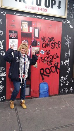 On Broadway Picture Of School Of Rock The Musical New York City