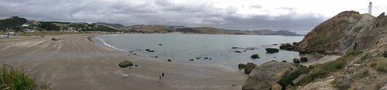 Castlepoint, นิวซีแลนด์: Lovely panorama