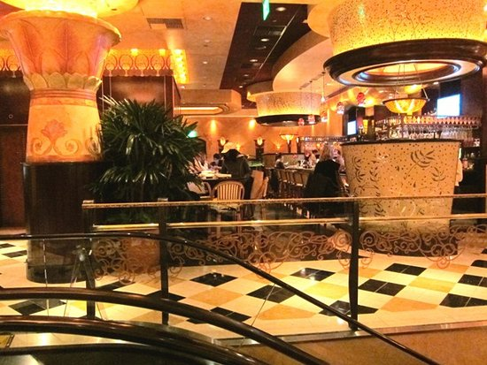 Some decor setting picture of the cheesecake factory