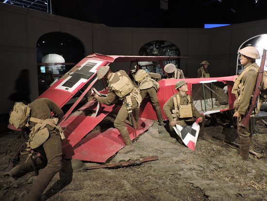 Omaka Aviation Heritage Centre: The demise of the Red Baron