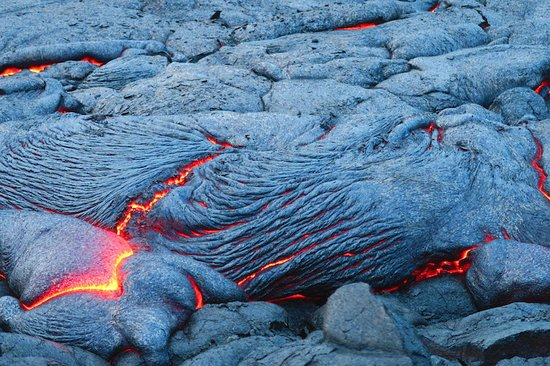 Lilikoi Inn: lava viewing area