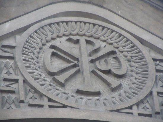 Saint christophe portant l 39 enfant sculpture en ciment - Eglise la porte ouverte culte en direct ...