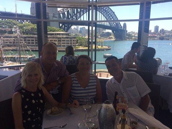 Quay Restaurant: Our view
