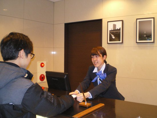 Hotel MyStays Hamamatsucho: reception