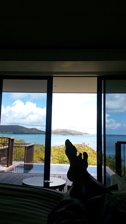 Anse Takamaka, Seychelles: View from the bedroom