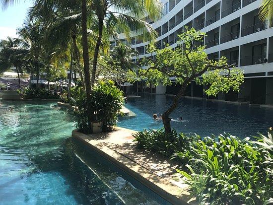 View Of The Pool Picture Of Hard Rock Hotel Penang Batu Ferringhi Tripadvisor