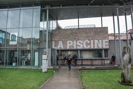 Roubaix, Frankrike: vue entrée du musée