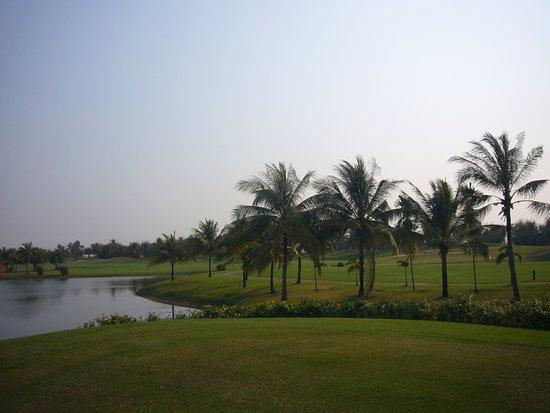 素晴らしいゴルフ場