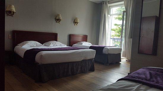 Hotel Beaurivage: chambre familiale