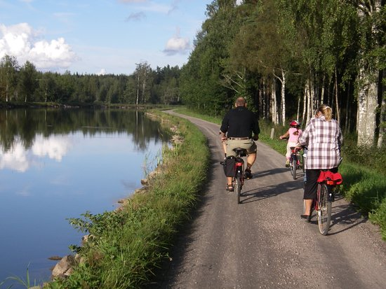 Sjotorp Bicycle Rental, Gota canal