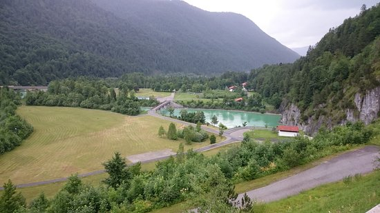Jachenau, Nemecko: The lower lake