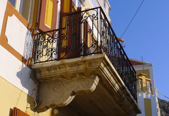 Beatiful Symi houses