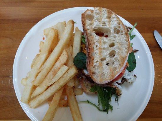 Ellerslie, Neuseeland: Sierra steak sandwich