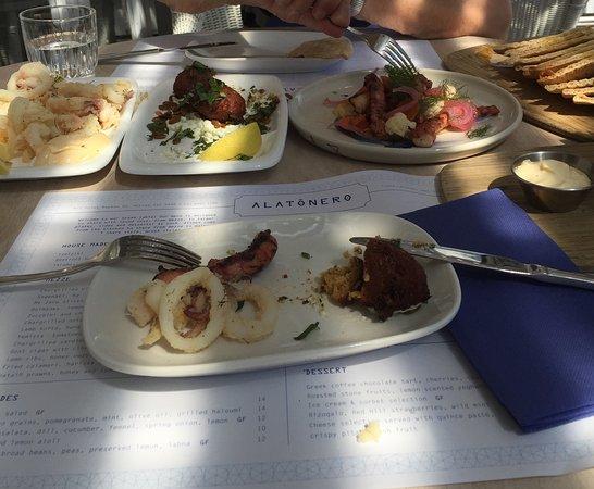 McCrae, Australia: Mezze- 3 delicious plates