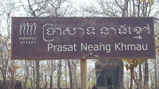 Prasat Neang Khmau: Sign
