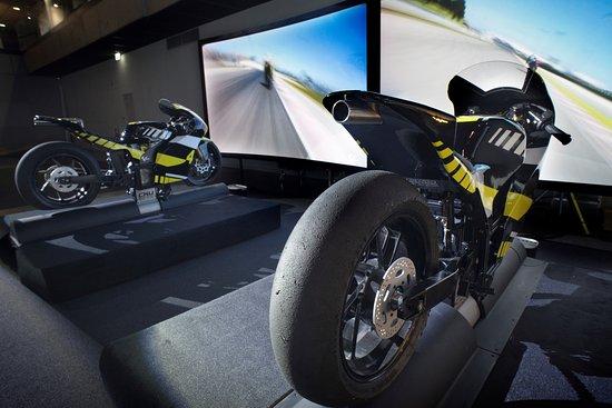 I-way : Simulateurs moto