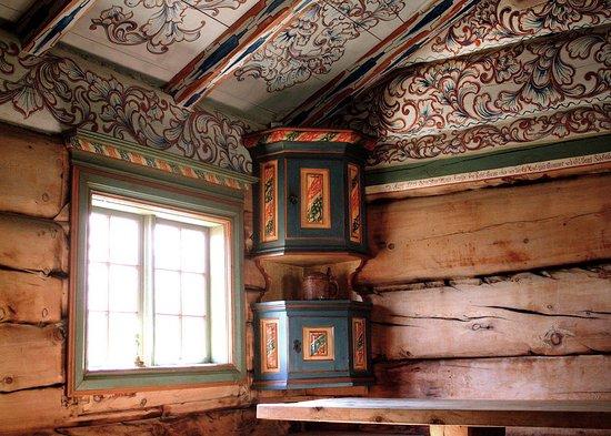 Sverresborg Trondelag Folk Museum: The Oppdal Group of Farms - Vika House