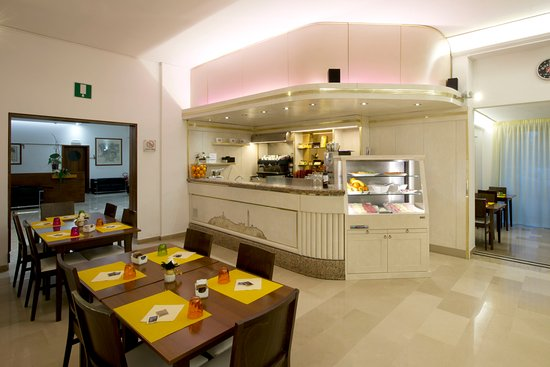 Hotel Minerva: Sala colazione