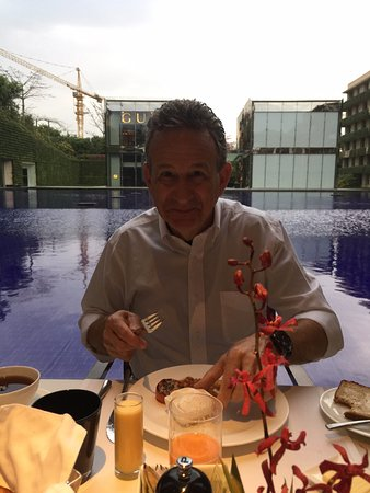 The Oberoi, Gurgaon: Excellent breakfast!