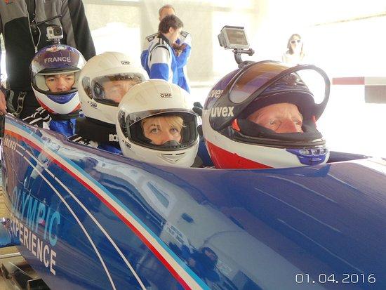 Bobsleigh La Plagne : Descente en bobsleigh de compétition à la Plagne