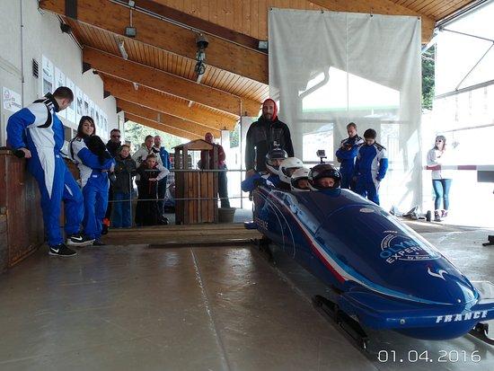 Bobsleigh La Plagne : Olympic Experience à la Plagne