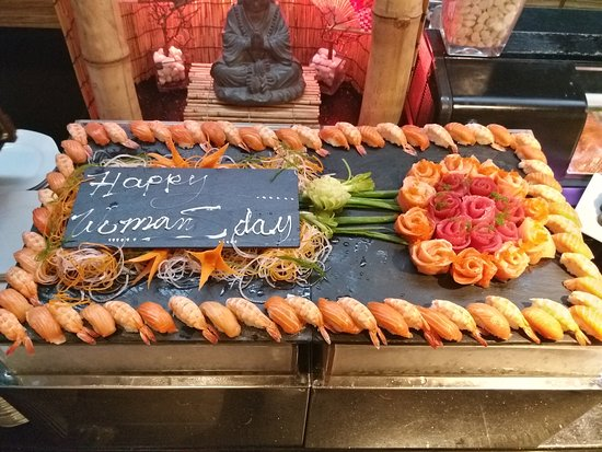 Creekside Japanese Restaurant: Women's Day at Creekside