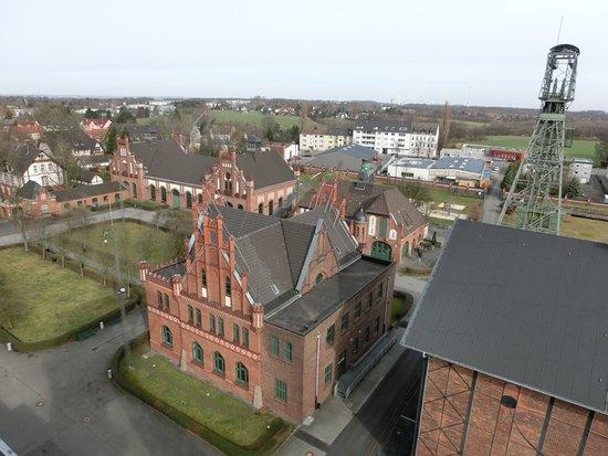Lwl Industrial Museum Zollern: Aussicht vom Förderturm