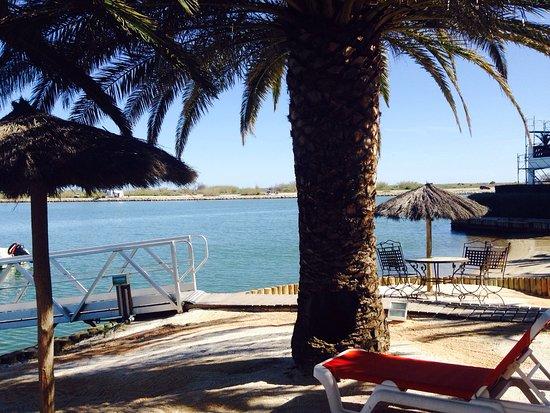 Hotel L'Ile de la Lagune : L'île de la Lagune côté plage