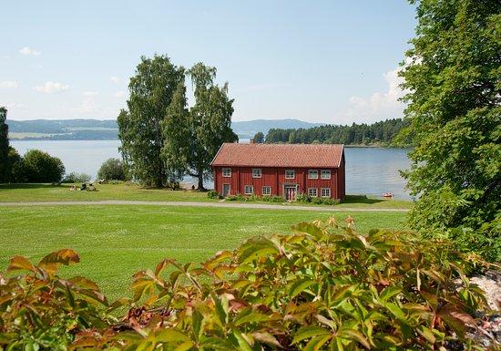 Anno Museum Domkirkeodden: Løtenbygningen - kan leies som selskapslokale i sommersesongen.