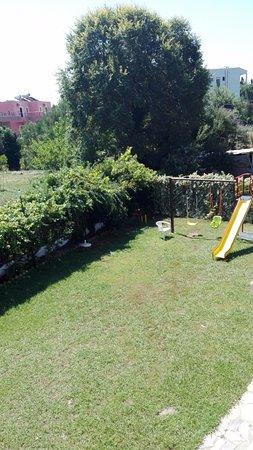 Maltezos Hotel: Playground view