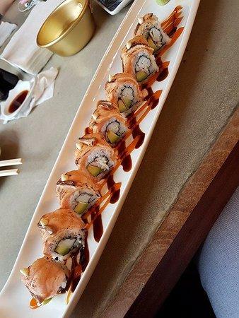 Kyoto Sushi & Bab: tiger roll