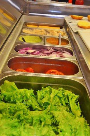 Prize Burger: Salada fresquinha todos os dias