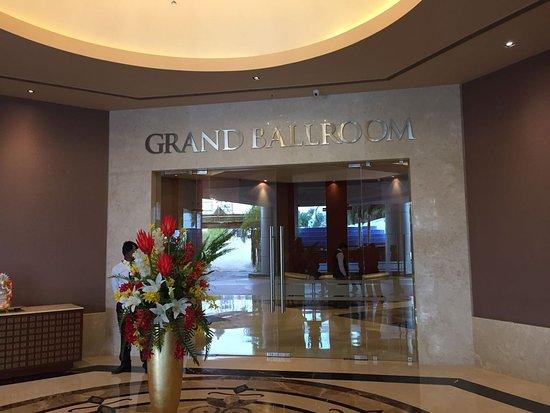 Radisson Salem: Grand Ball Room - really grand one
