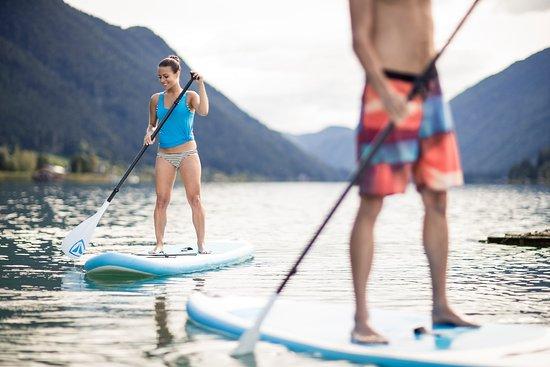 Hotel Regitnig: Kostenlose Stand-up-Paddleboards, Ruderboote, Kajaks uvm.