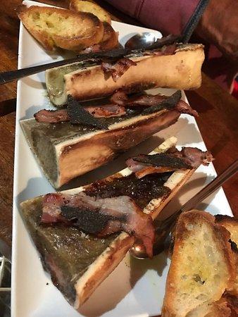La Porte d'A Cote: Côte de bœuf pour 2  1,3kg Os à moelle rôti