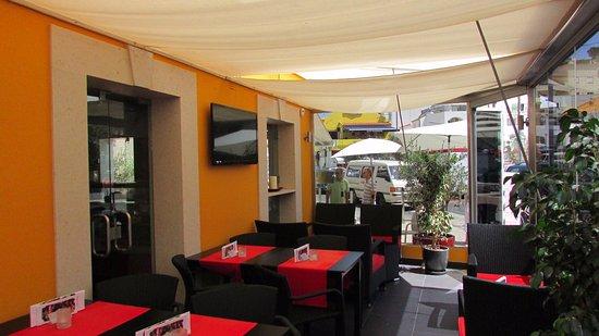 JAN Restaurante: JAN indoor terrace