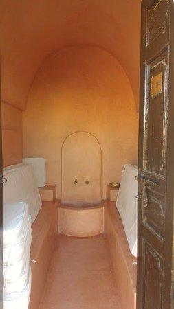 Riad el Noujoum: Baño de vapor - sauna