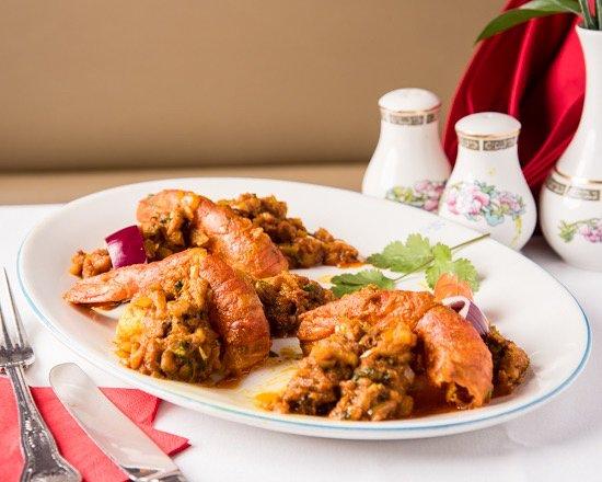 Taste of Raj: Shukna king prawn