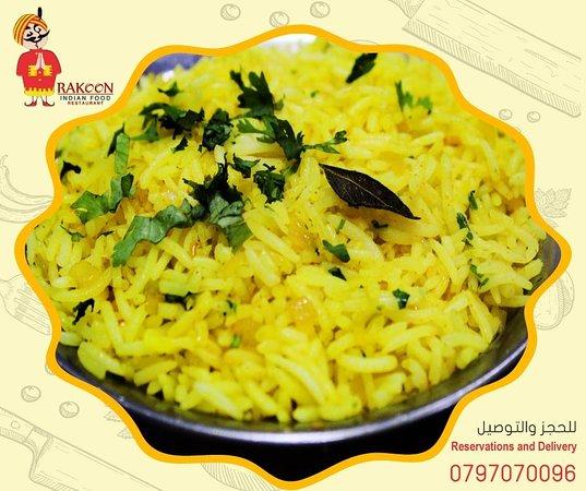 RAKOON INDIAN FOOD: Biryani Rice